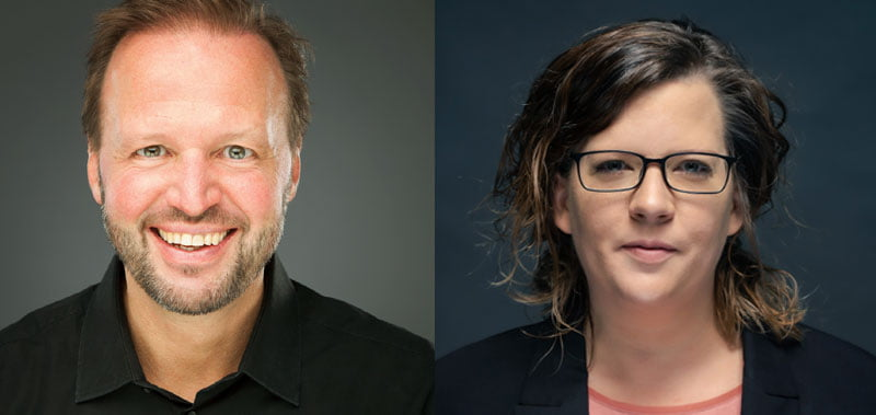 Tom Koperek and Sandra Beckmann