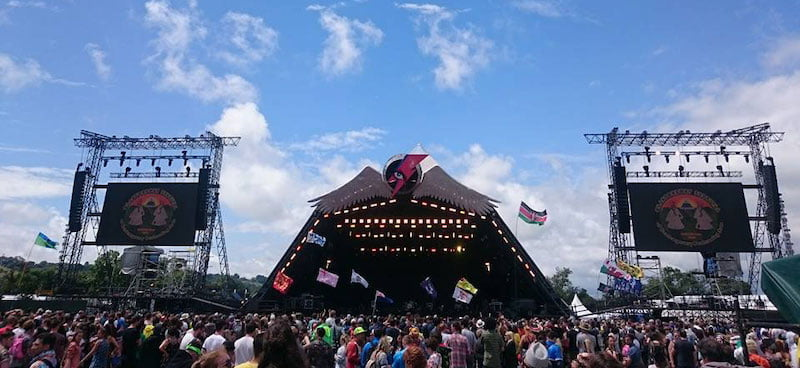 The proposed concert would take place only on the Pyramid Stage