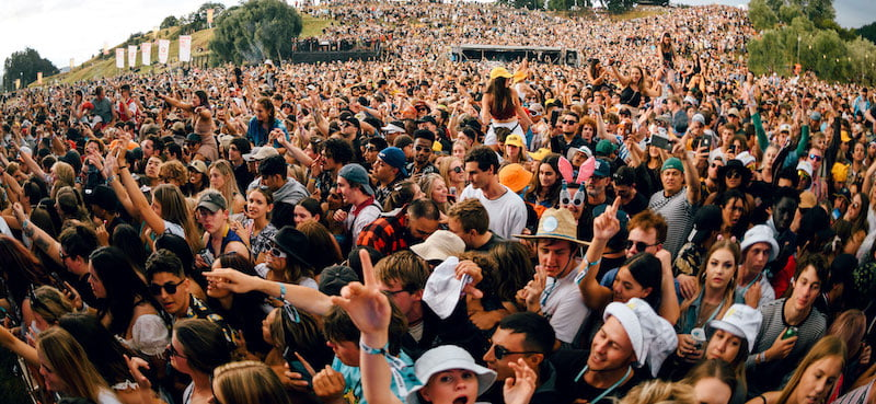 Rhythm and Vines welcomed 20,000 patrons to the recent NYE celebrations
