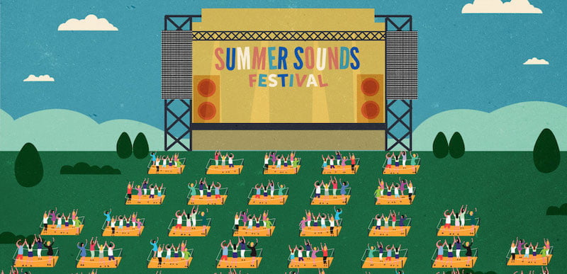 Summer Sounds will kick off this weekend