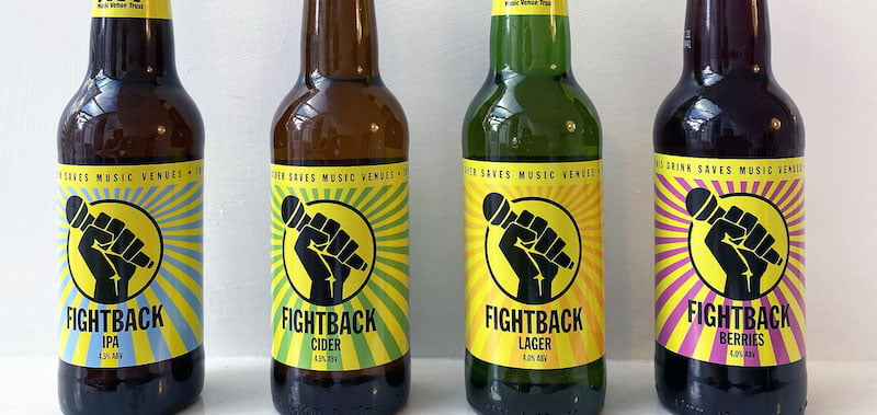 Fightback is the official beer partner of ILMC 33