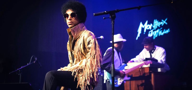 Prince performs at Montreux Jazz Festival 2013