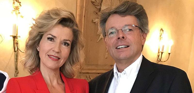 Schwenkow with violinist Anne-Sophie Mutter