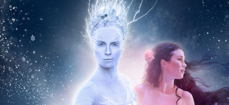 The Snow Queen brings together skating, ice hockey and musical performance