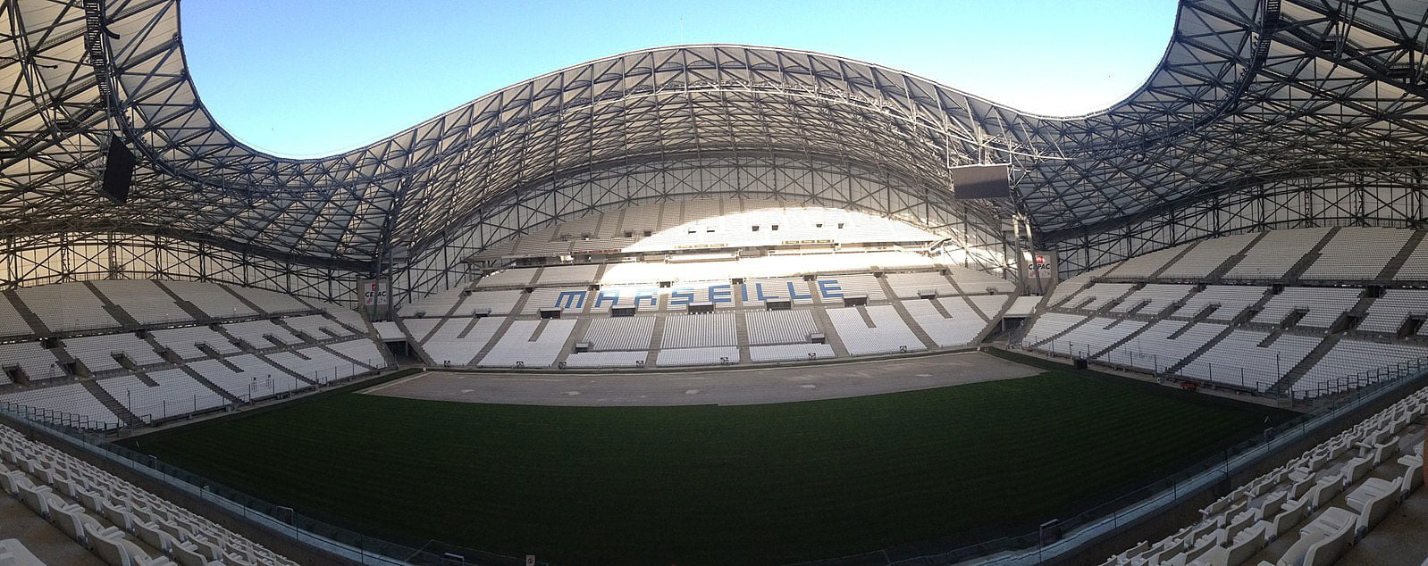 The Velodrome stadium, Marseille