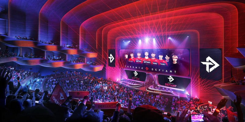 The new area will be home to Toronto's two professional esports teams
