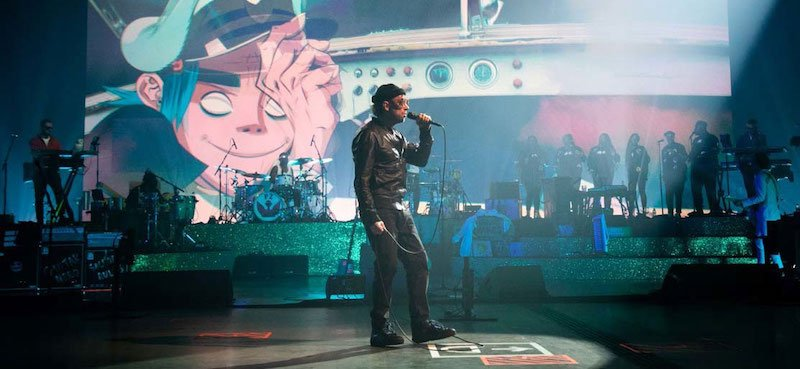 Gorillaz staged three performances for their Song Machine Live from Kong shows in December