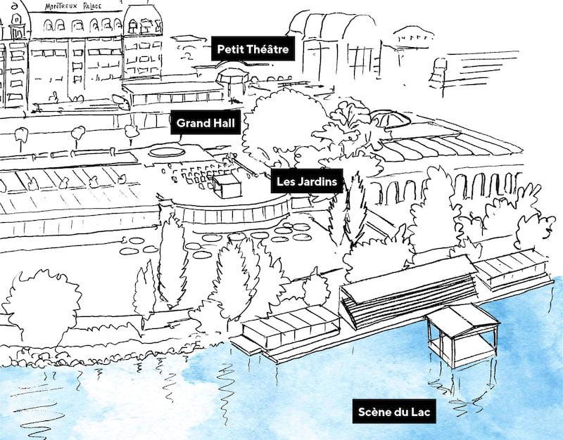 Montreux Jazz Festival 2021 stages
