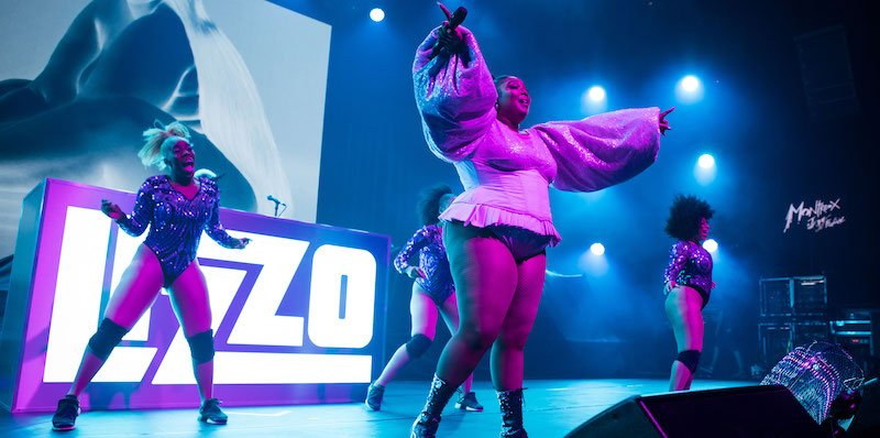 Lizzo performs at MJF 2019