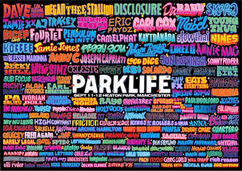 Parklife 2021 line-up