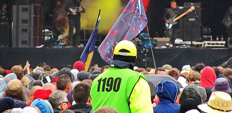 Steward at T in the Park