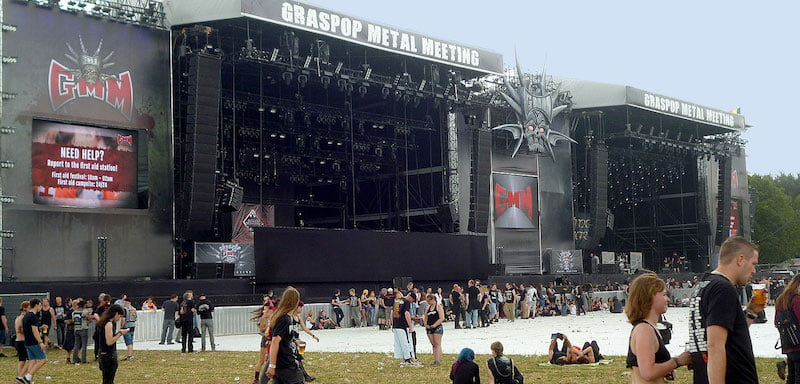 Graspop Metal Meeting is the first major Belgian festival to cancel its 2021 event