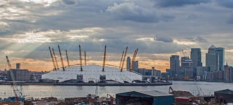 The O2 is the world's most-visited arena