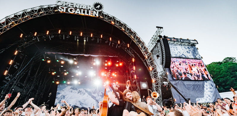 CTS Eventim's OpenAir St.Gallen is one of many Swiss festivals that have cancelled