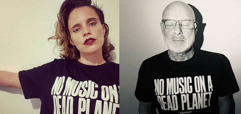 Anna Calvi and Brian Eno are backing Music Declares Emergency