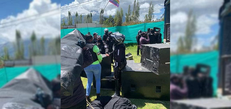 Killary Fest had its equipment confiscated by Ecuador's national police