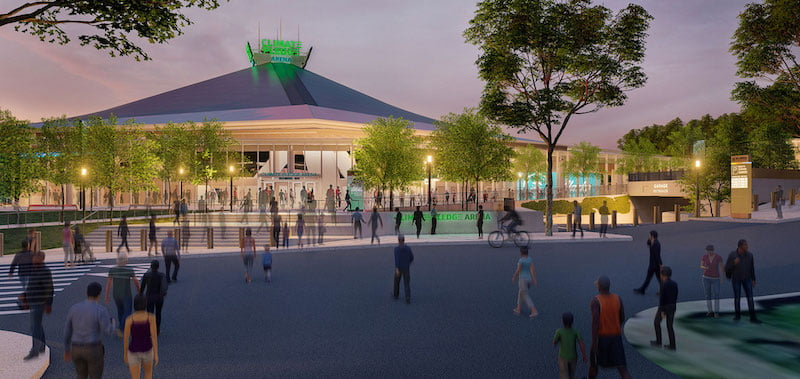 The Sharecare-verified Climate Pledge Arena is scheduled to open in October 2021