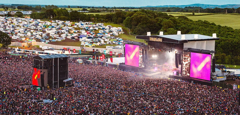 Download Pilot will take place on the Download site at Donington Park