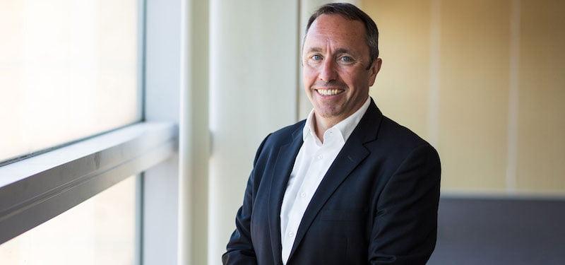 John Sharkey will step down in December