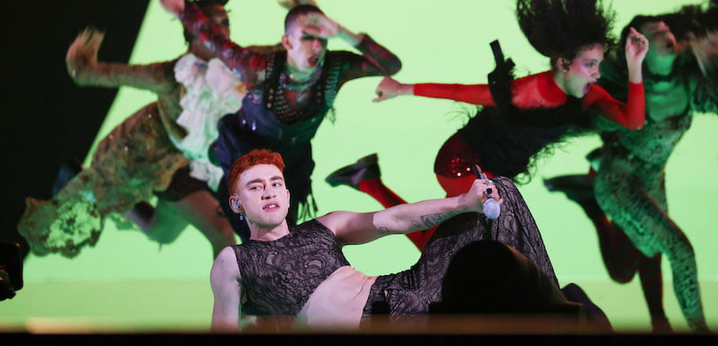 Brit Awards 2021: Years & Years performed the Pet Shop Boys' 'It's a Sin' with Elton John