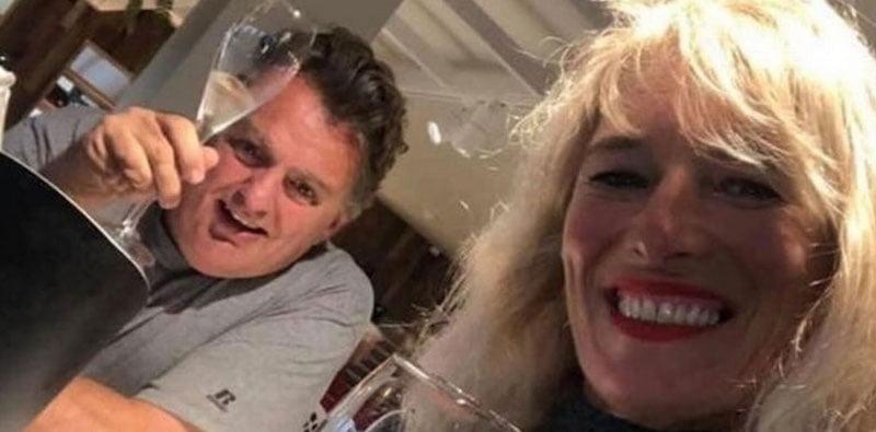 Craig Duffy and his partner Sue Parmiter