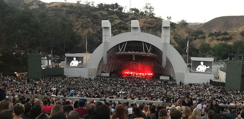 The Hollywood Bowl, LA, California