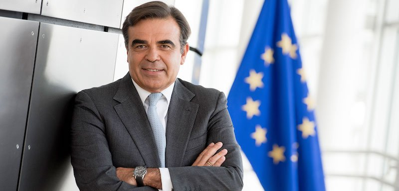 The EU's minister for promoting the European way of live, Margaritis Schinas