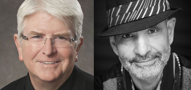 Steve Martin (left) has allied Paladin Artists with Wayne Forte's Entourage Talent