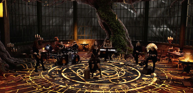 Nightwish perform in the Islanders' Arms