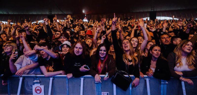 """Fans at Sefton Park Pilot, one of the ERP shows which proved """"large-scale events are inherently safe"""
