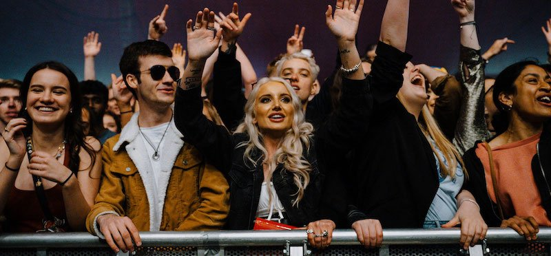 Fans at Sefton Park Pilot, the ERP event held in Liverpool in May