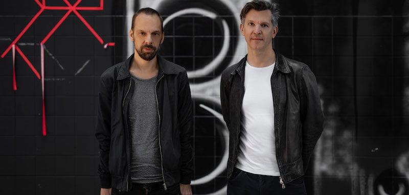 Goodlive Artists Austria's Silvio Huber (left) and Philipp Malý