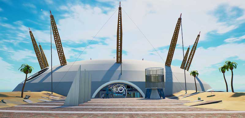 The O2 as it appears in Fortnite Creative