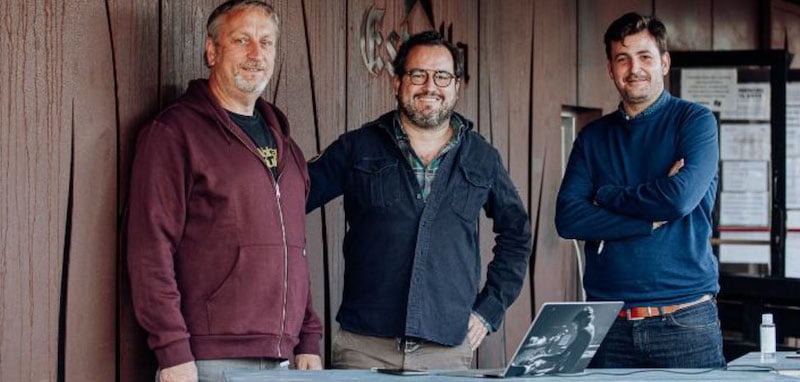 Tiketblok co-founder Xavi Manresa, operations manager Roberto Maymo, and managing director Javier de Esteban
