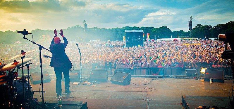 Midge Ure performs at UK Live's Let's Rock Southampton