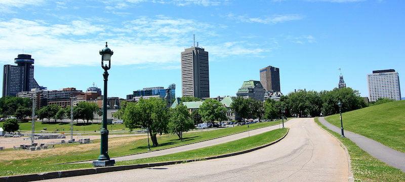 Plains of Abraham, Quebec