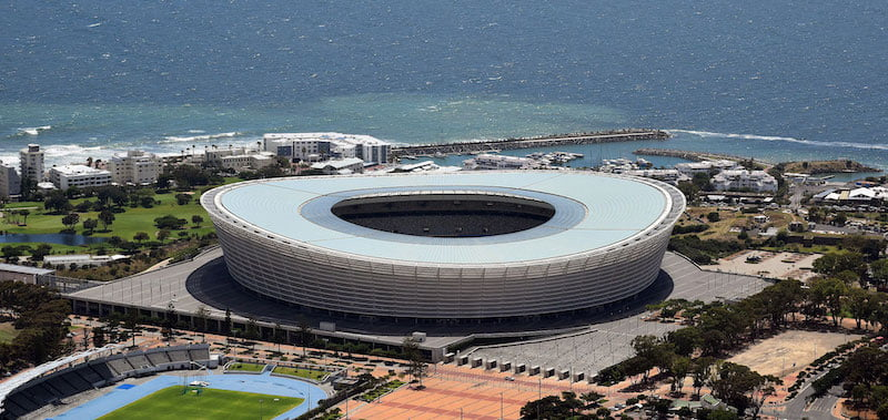 The accident happened at Cape Town Stadium, SA