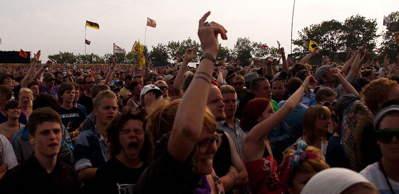 Roskilde is involved in Back to Live