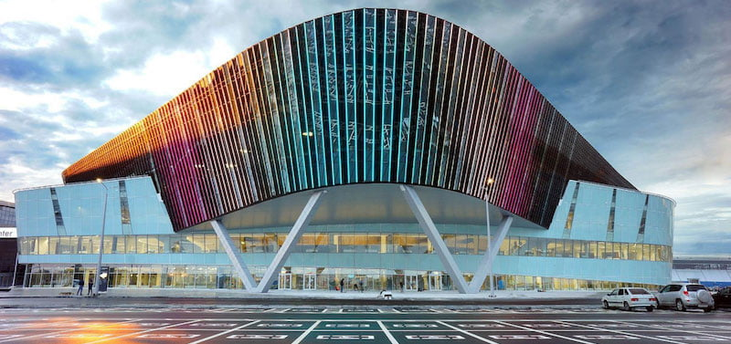 MTS Live Hall, Ekaterinburg Expo, Yekaterinburg