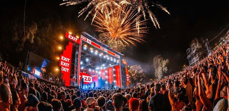 Exit Festival celebrated its 20th anniversary at the weekend