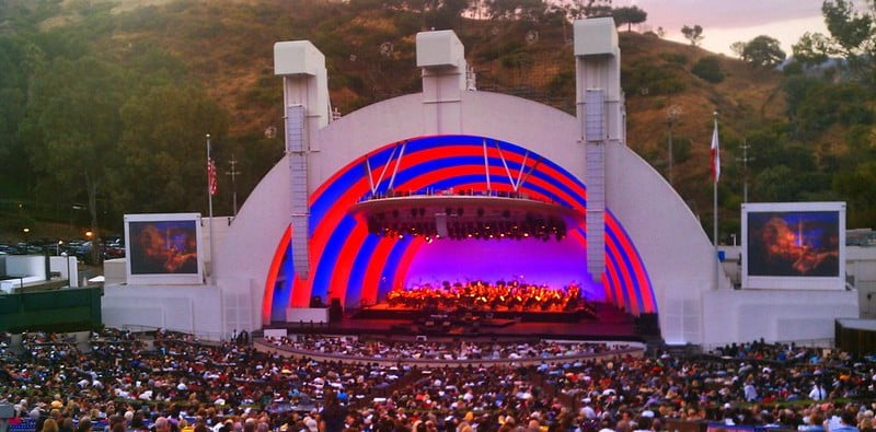 The county order will apply to venues including the Hollywood Bowl