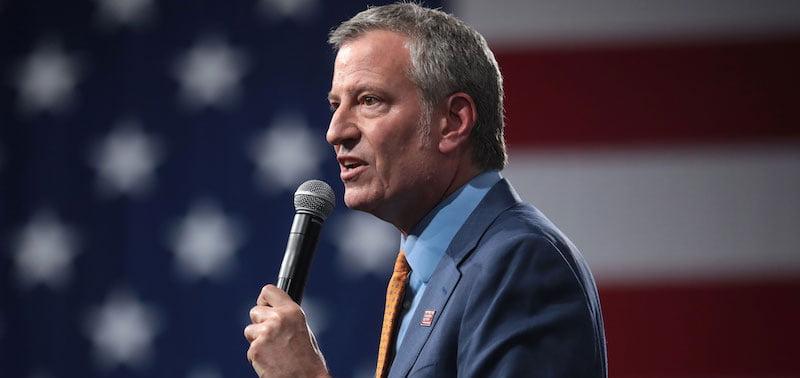 Bill de Blasio, mayor of New York
