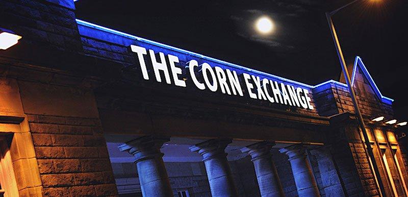 Edinburgh Corn Exchange as it appears currently