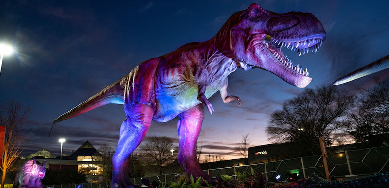 Imagine Exhibitions enjoyed success with its outdoor Dino Safari