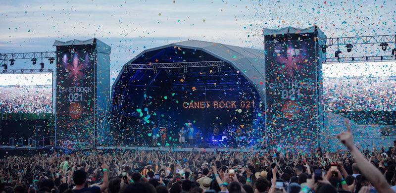 Canet Rock took place on 3 July