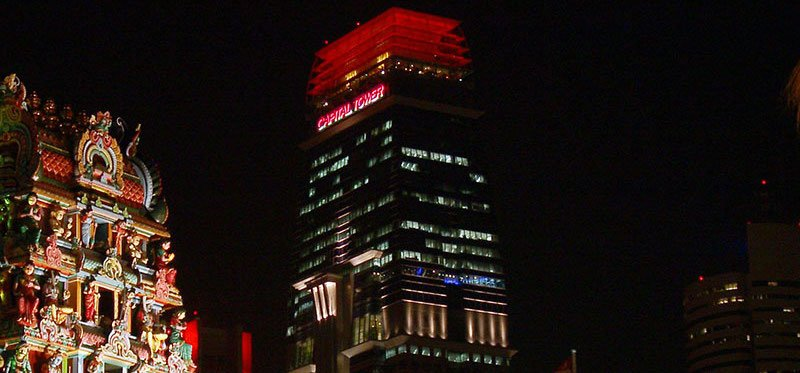 GIC is based at Singapore's Capital Tower