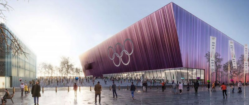 An artist's rendering of CTS Eventim's MSG arena