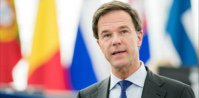 Dutch prime minister Mark Rutte has tightened restrictions on events