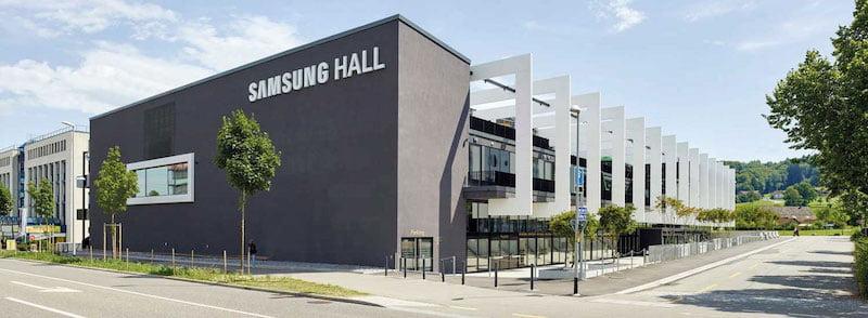 Samsung Hall will be served by Ticketmaster Switzerland