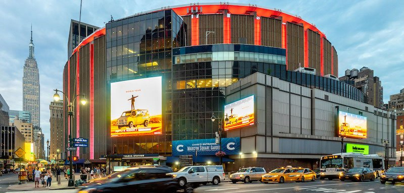MSG Entertainment's Madison Square Garden, New York